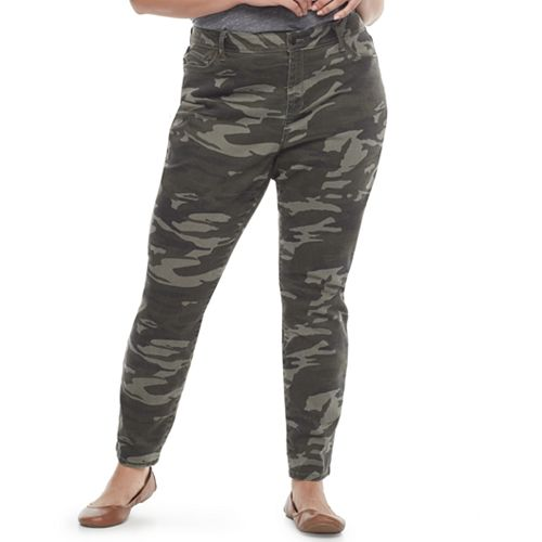 Plus Size SONOMA Goods for Life™ Skinny Twill Pants