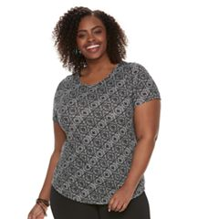 Plus Size SONOMA Goods for Life™ Essential Crewneck Tee