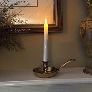 LumaBase LED Taper Candle 4-piece Set