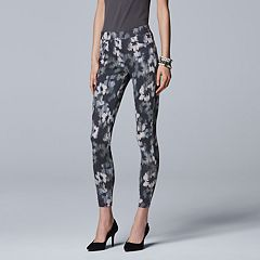 Simply Vera Vera Wang Floral Denim Leggings