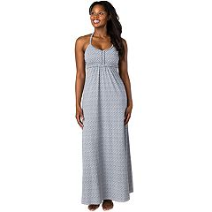 Women's Soybu Dhara Halter Yoga Maxi Dress