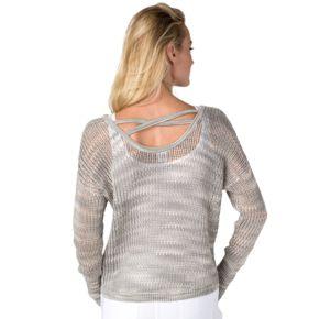 Women's Soybu Gigi Strappy Back Yoga Sweater