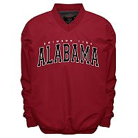 Men's Franchise Club Alabama Crimson Tide Members Windbreaker Pullover