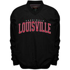 Men's Franchise Club Louisville Cardinals Members Windbreaker Pullover