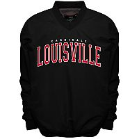 Men's Franchise Club Louisville Cardinals Members Windbreaker Pullover
