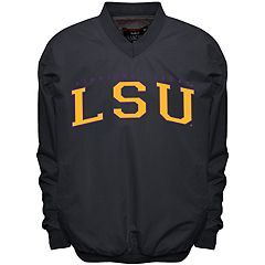 Men's Franchise Club LSU Tigers Members Windbreaker Pullover