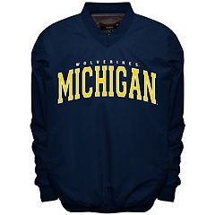 Men's Franchise Club Michigan Wolverines Members Windbreaker Pullover