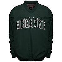 Men's Franchise Club Michigan State Spartans Members Windbreaker Pullover