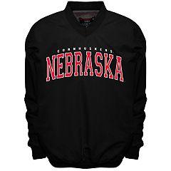 Men's Franchise Club Nebraska Cornhuskers Members Windbreaker Pullover