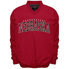 Men's Franchise Club Nebraska Cornhuskers Members Windbreaker Pullover