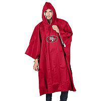 Adult Northwest San Francisco 49ers Deluxe Poncho