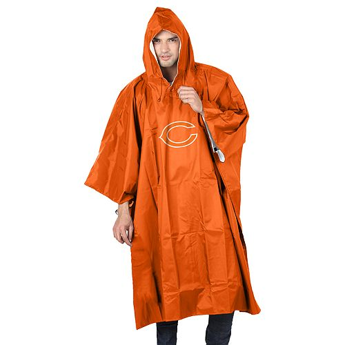 Adult Northwest Chicago Bears Deluxe Poncho