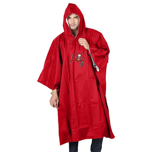 Adult Northwest Tampa Bay Buccaneers Deluxe Poncho