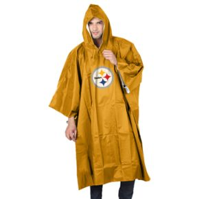 Adult Northwest Pittsburgh Steelers Deluxe Poncho