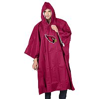 Adult Northwest Arizona Cardinals Deluxe Poncho