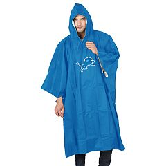 Adult Northwest Detroit Lions Deluxe Poncho