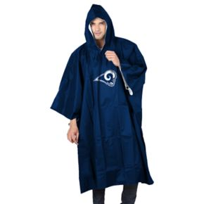 Adult Northwest Los Angeles Rams Deluxe Poncho