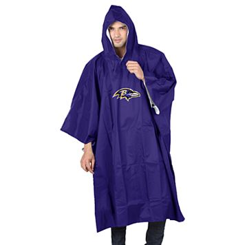 Adult Northwest Baltimore Ravens Deluxe Poncho