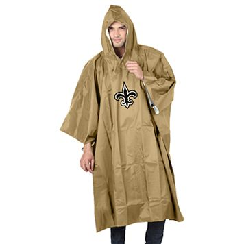 Adult Northwest New Orleans Saints Deluxe Poncho