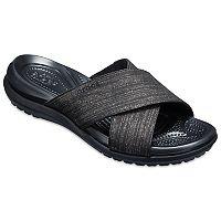Crocs Capri Shimmer Women's Slide Sandals