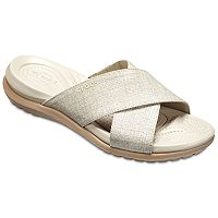 Crocs Capri Shimmer Women's Slide Sandals
