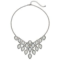 Mudd® Inverted Teardrop Statement Necklace