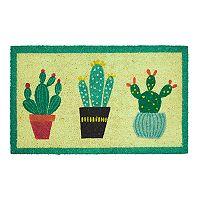 Mohawk® Home Cactus Trio Border Coir Doormat - 18