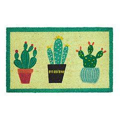 Mohawk® Home Cactus Trio Border Coir Doormat - 18' x 30'