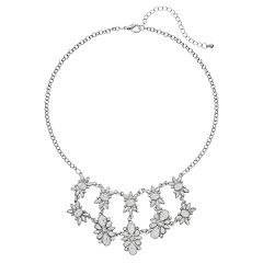 Mudd® Geometric Statement Necklace
