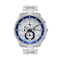 Casio Men's EDIFICE Marine Stainless Steel Chronograph Watch - EFM502D-7A