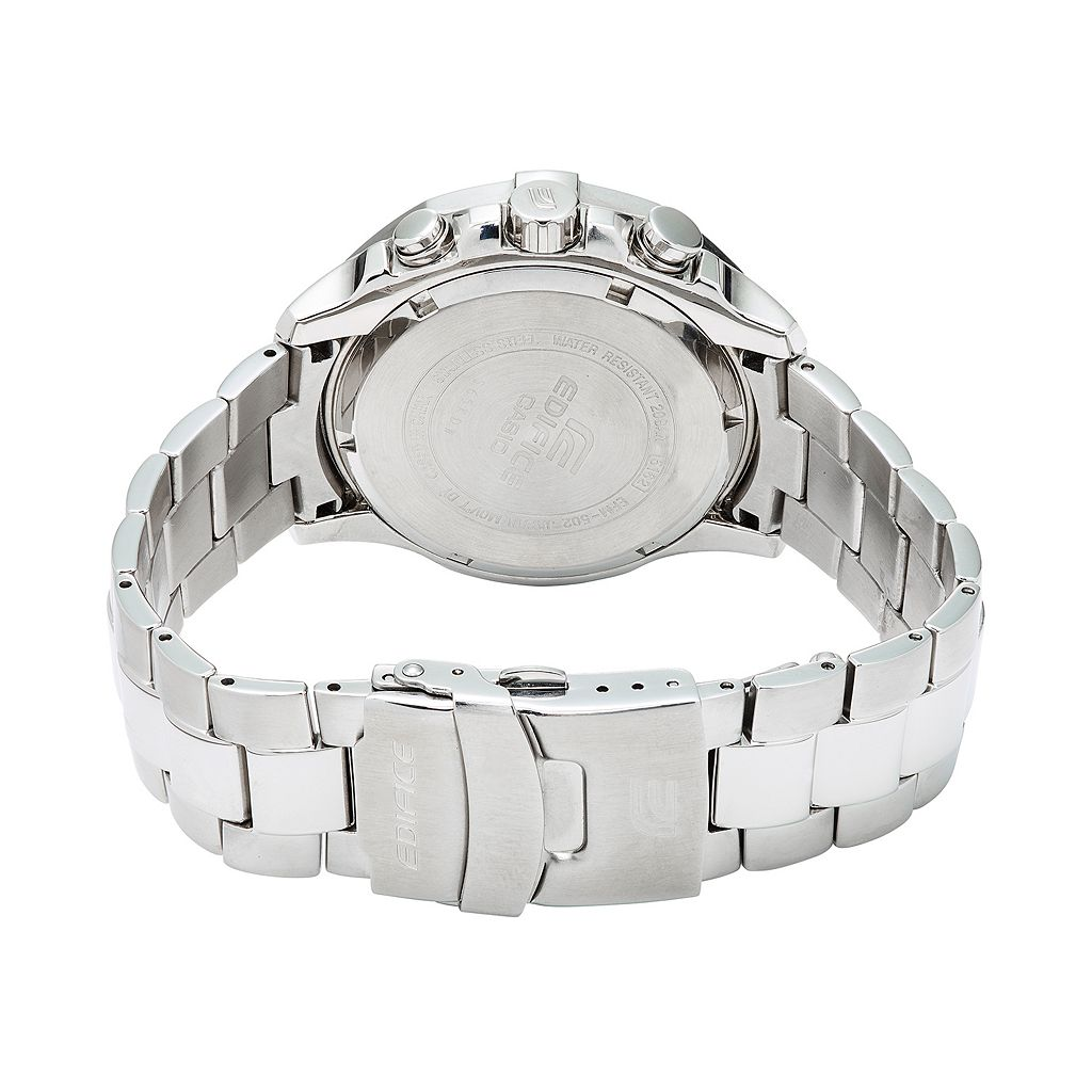 Casio Men's EDIFICE Marine Stainless Steel Chronograph Watch - EFM502D-7A