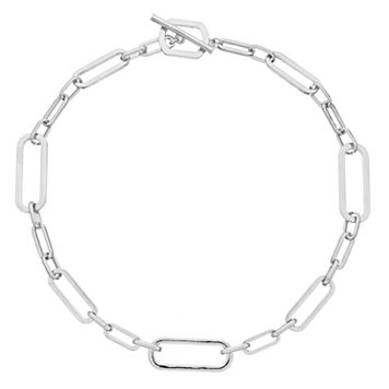 Mudd® Square Link Toggle Necklace