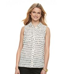 Women's Apt. 9® Pocket Front Blouse