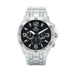 Casio Men's EDIFICE Stainless Steel Chronograph Watch - EFR538D-1AV
