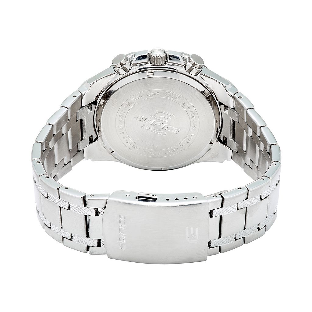 Casio Men's EDIFICE Stainless Steel Chronograph Watch - EFR538D-1AV