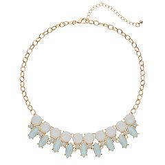Mudd® Pastel Stone Statement Necklace