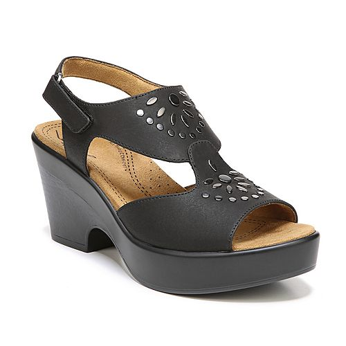 NaturalSoul by naturalizer Mia Women's Block Heel Sandals