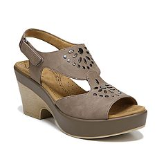 NaturalSoul by naturalizer Mia Women's Block Heel Sandals