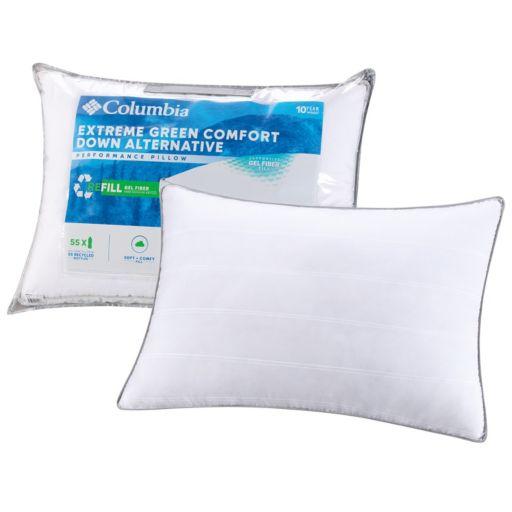 Columbia Extreme Green Comfort Down Alternative Pillow
