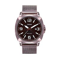 Casio Men's Stainless Steel Mesh Watch - MTP1350DD-5A