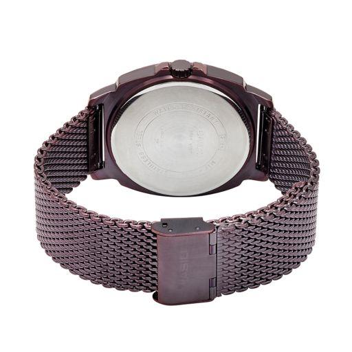 Casio Men's Stainless Steel Mesh Watch  - MTP1350DD-5A