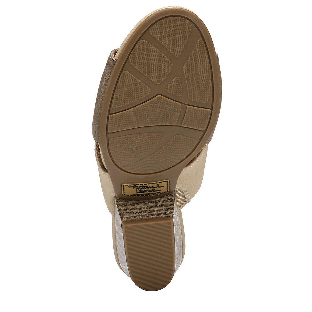 NaturalSoul by naturalizer Dedee Women's Block Heel Sandals