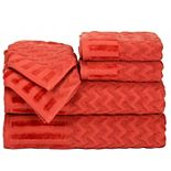 Portsmouth Home Chevron 6-piece Bath Towel Set