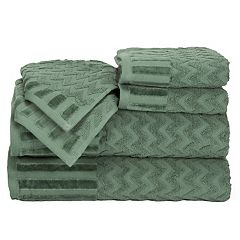 Portsmouth Home Chevron 6 pc Bath Towel Set
