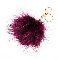 Mudd® Magenta Pom Pom Key Chain
