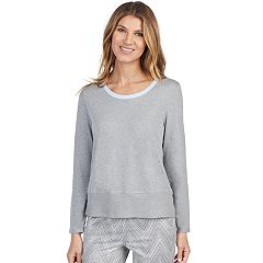 Women's Jockey Pajamas: High-Low Long Sleeve Top