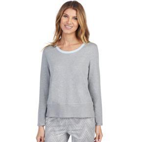 Women's Jockey Pajamas: High-Low Long Sleeve Top