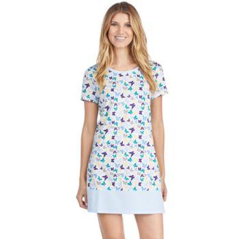 Women's Jockey Pajamas: Butterfly Graphic Sleep Shirt