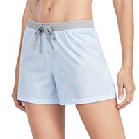 Women's Jockey Pajamas: Chevron Print Boxer Shorts