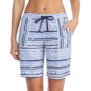 Women's Jockey Striped Bermuda Pajama Shorts